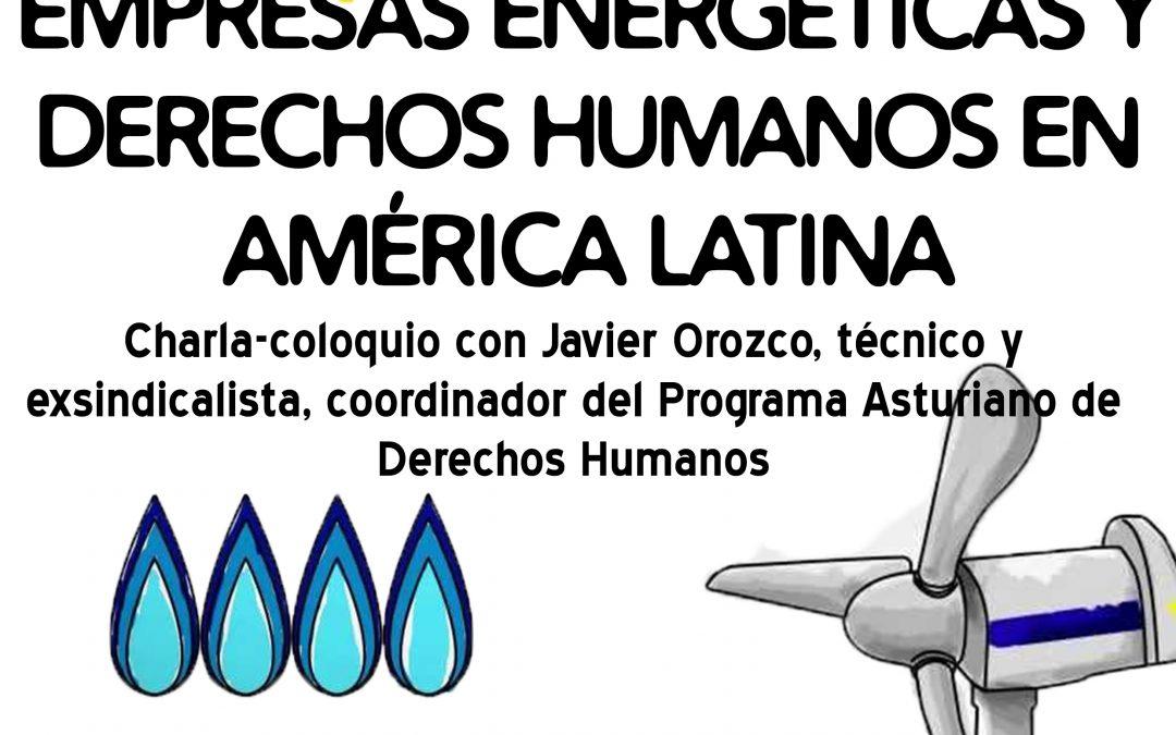 """Charla coloquio en la Escuela Politécnica de Ingeniería de Gijón: """"Irresponsabilidad social corporativa de empresas energéticas"""""""