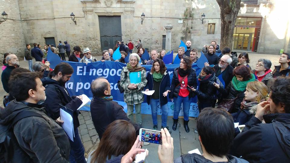 [Comunicat] Gota a Gota, remunicipalitzem l'Aigua a Barcelona. A Barcelona, amb l'aigua, aprofundim en la Democràcia. #Objectiu15000