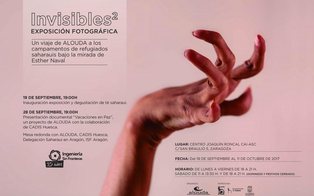 """Exposición fotográfica Invisibles2 y presentación del documental """"Vacaciones en paz"""""""