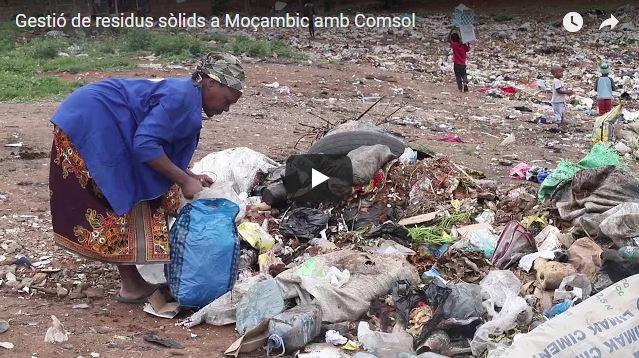 Gestió de residus sòlids a Moçambic amb Comsol