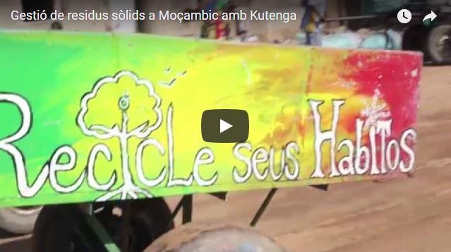 Gestió de residus sòlids a Moçambic amb Kutenga