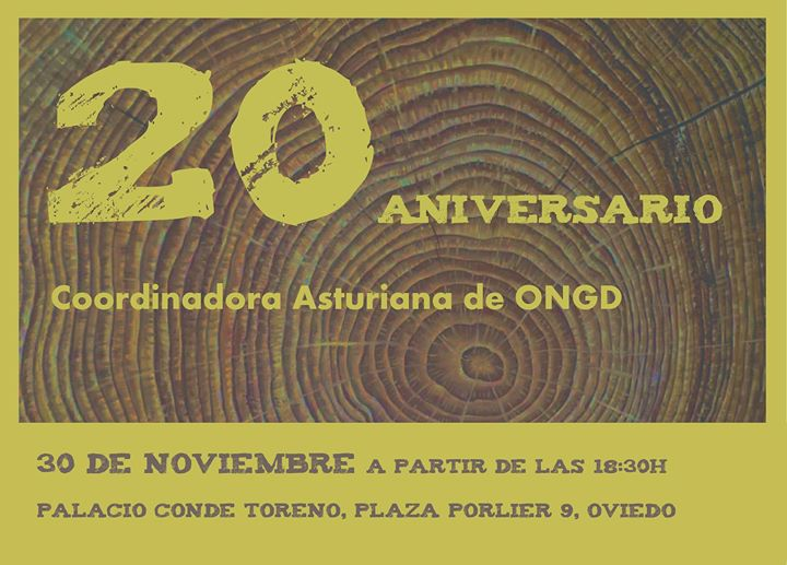 ISF Asturias en la celebración del 20 aniversario de la CODOPA