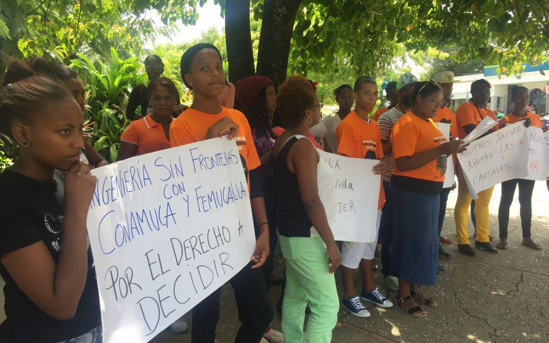 La movilización social en Dominicana gana una batalla por la despenalización del aborto
