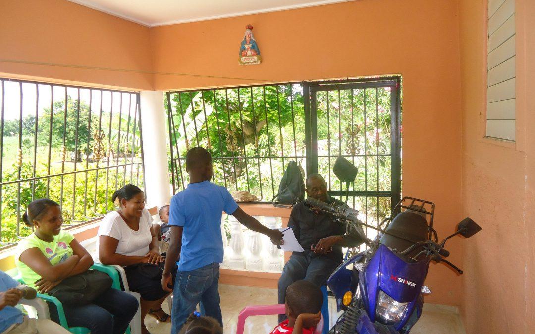 Niñas y niños que autogestionan sus residuos en Guanito