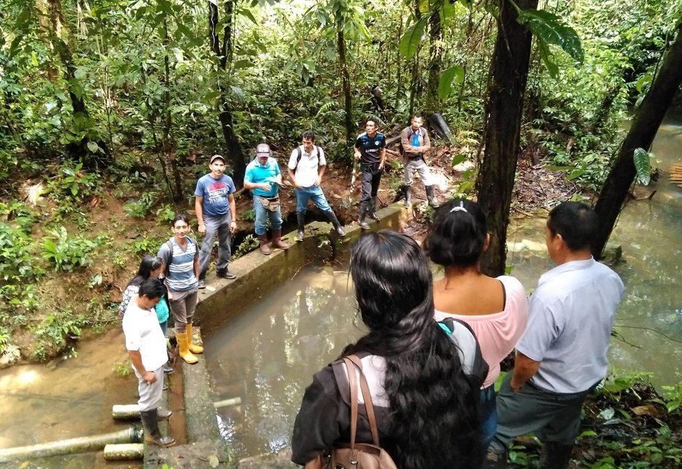 Organitzem un recorregut pels diferents sistemes d'aigua de la parròquia La Belleza