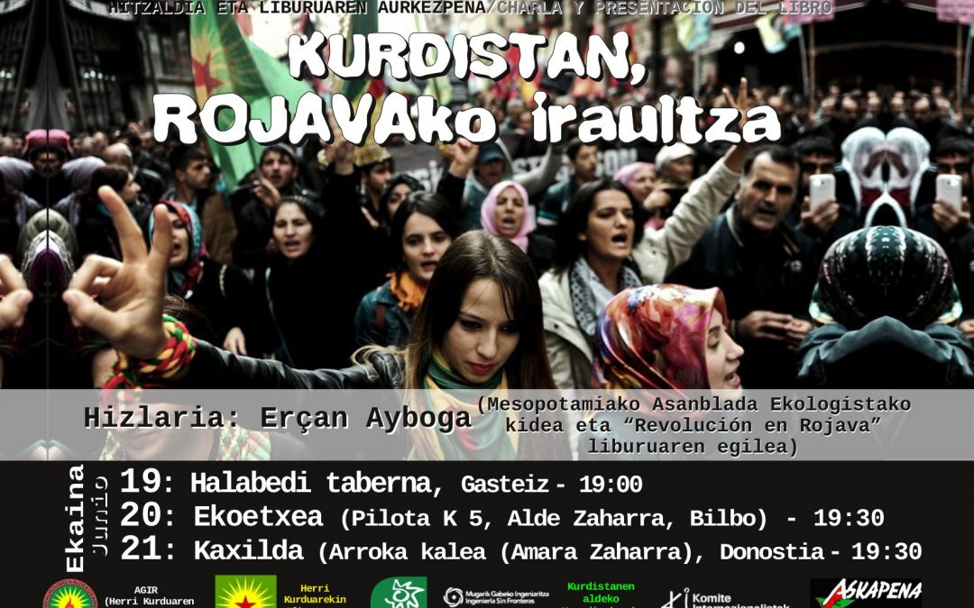 """Presentación Libro: """"Revolución en Rojava"""""""