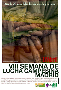 Semana de Lucha Campesina en Madrid