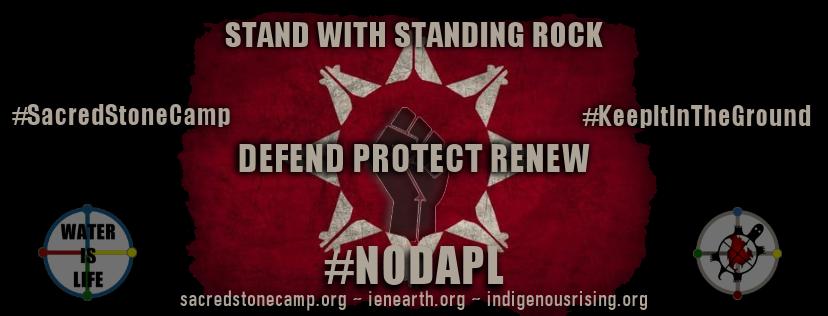 Standing Rock gira europea