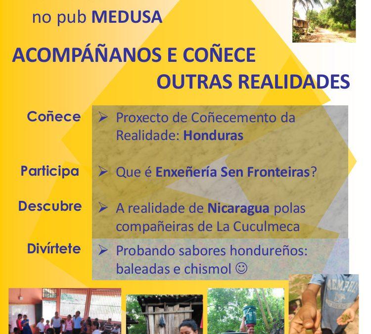 Vente coñecer outras realidades! Honduras e Nicaragua. Compostela, 13 de decembro