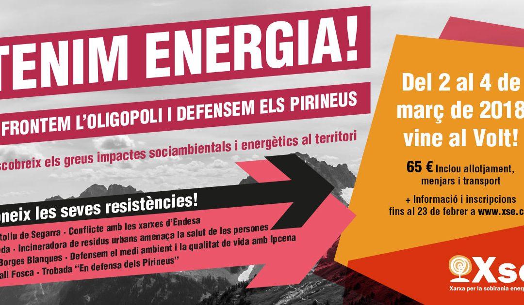 VOLT4 – Tenim energia: Enfrontem l'Oligopoli i Defensem els Pirineus! Inscripcions obertes!