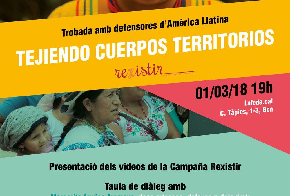 Trobada amb defensores d'Amèrica Llatina