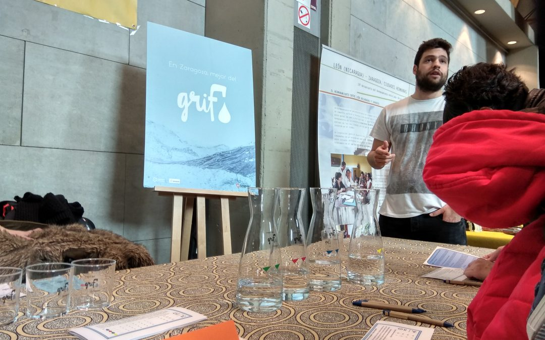 """Iniciamos la campaña """"En Zaragoza, mejor del grifo"""""""