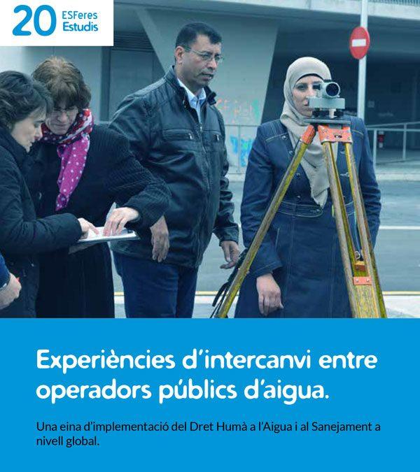 Presentem l'estudi Experiències d'intercanvi entre operadors públics d'aigua.