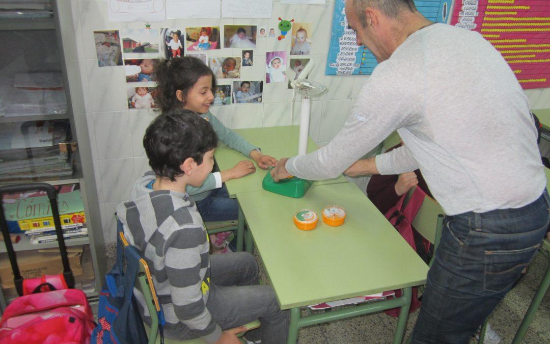 Talleres en el colegio Mayer Cooperativa, Torrelavega