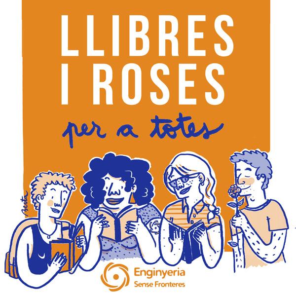 Per Sant Jordi llibres i roses per a totes! 📖🌹