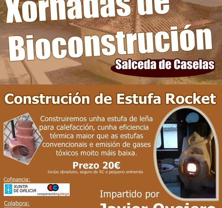 Xornadas de bioconstrución Estufa Rocket