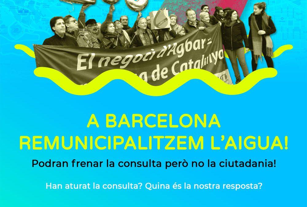 Assemblea Oberta: A Barcelona remunicipalitzem l'Aigua!