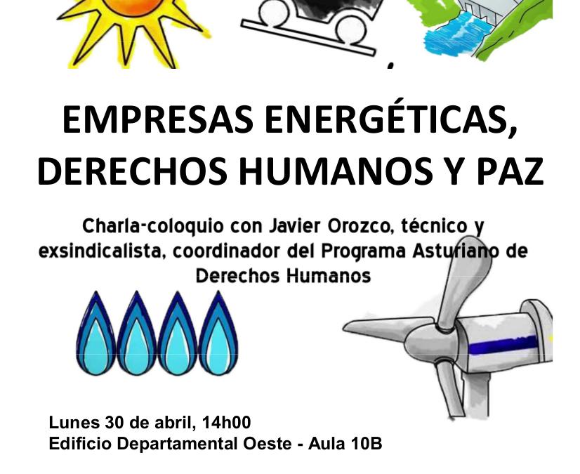 Empresas energéticas, derechos humanos y paz