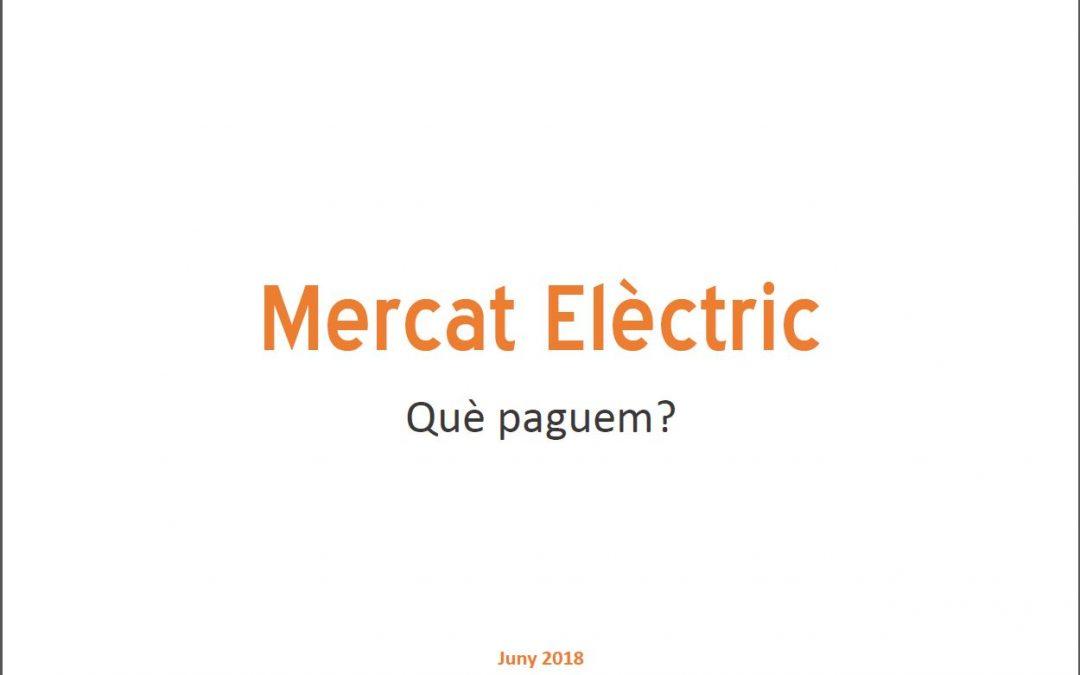 """Formació """"Mercat Elèctric: què paguem?"""""""