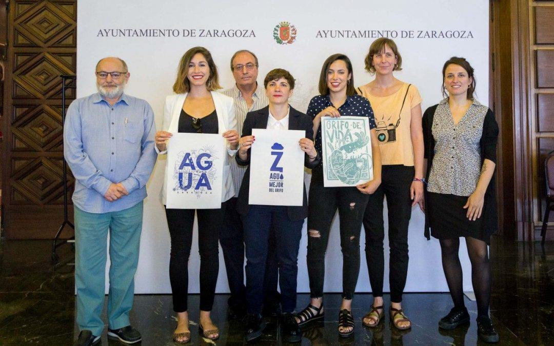 """Presentación de la nueva imagen de la Campaña """"En Zaragoza, mejor del grifo"""""""