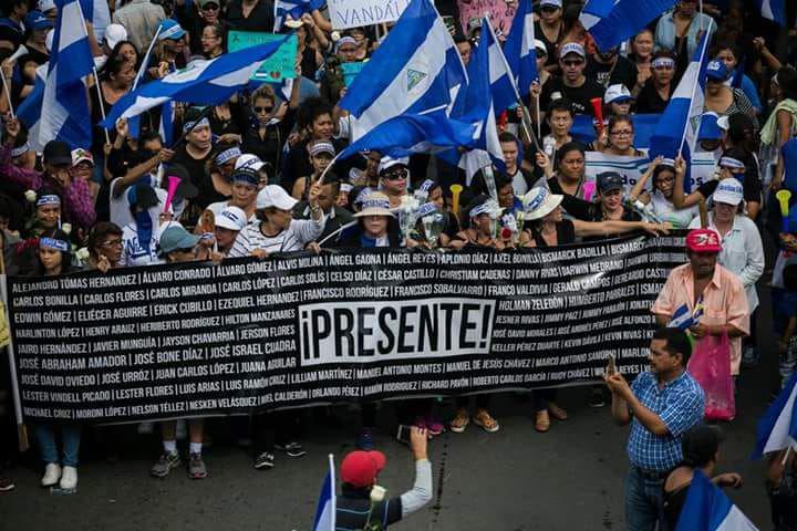 Nicaragua: una situación de violencia política y vulneración de DDHH