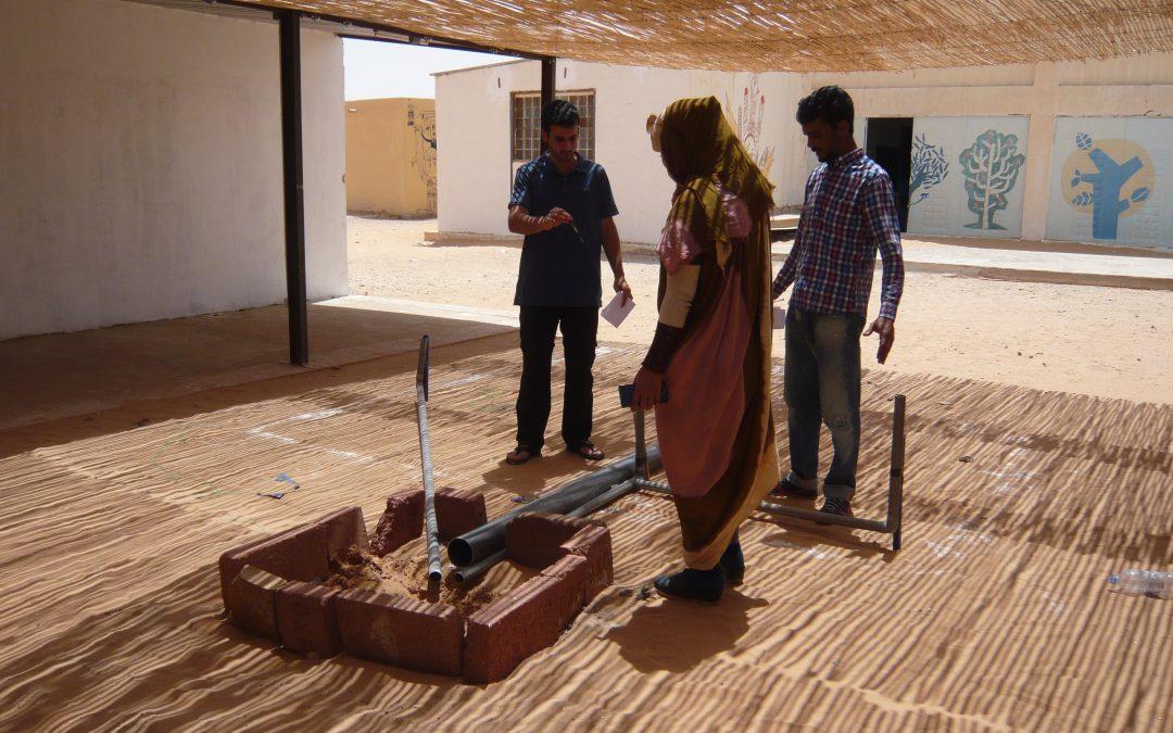 Termina el curso de abastecimiento y saneamiento de agua en los campamentos saharauis
