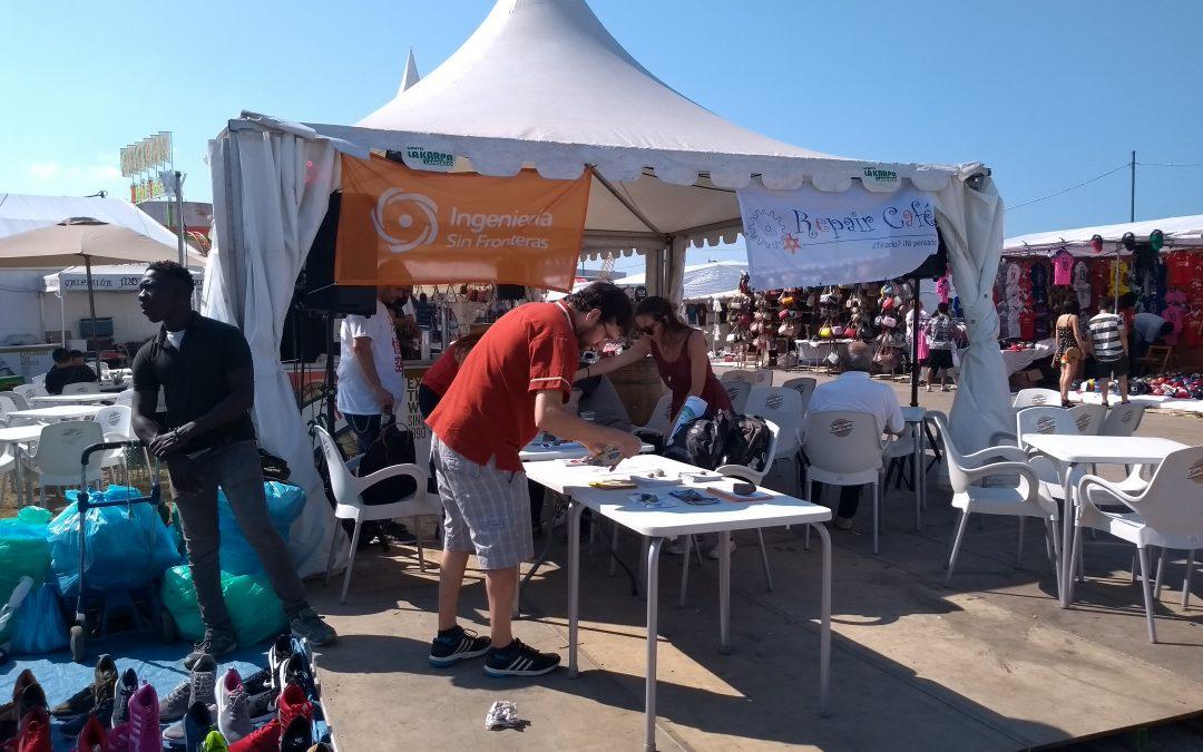 Undécimo Repair Café Asturias. Semana Negra de Gijón, 10 de julio de 2018