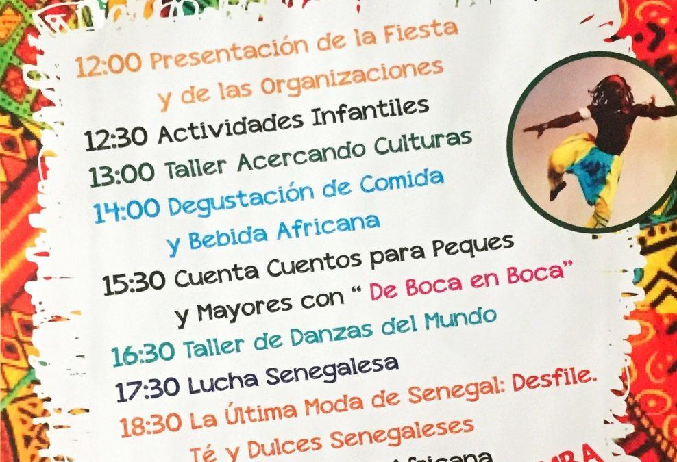 Fiesta Intercultural, 23 de septiembre en Gijón