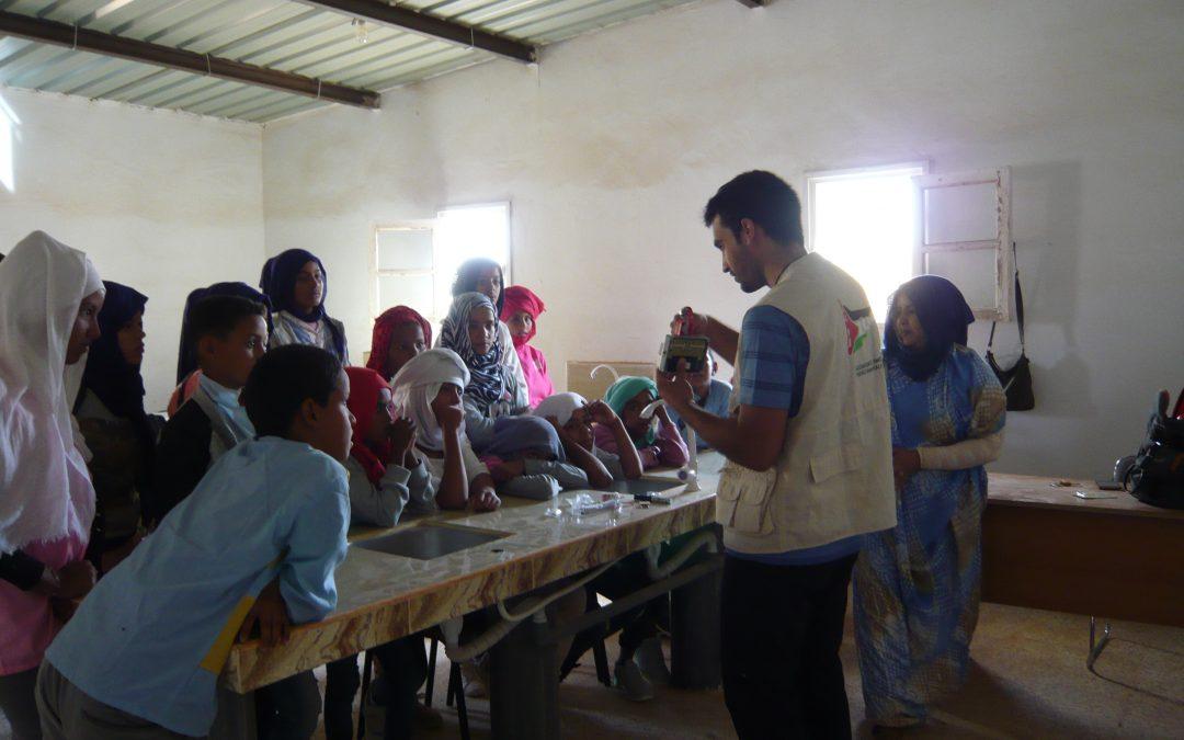 Comienza un nuevo proyecto en los campamentos saharauis: fortalecimiento del sistema educativo en la wilaya de Bojador