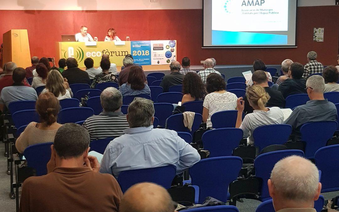 L'AMAP denuncia la judicialització dels processos de remunicipalització de la gestió de l'aigua