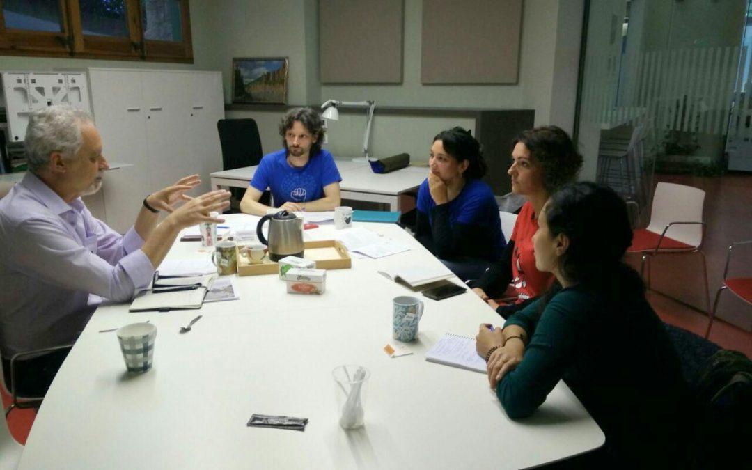El relator especial de l'ONU sobre el Dret Humà a l'Aigua i el Sanejament es reuneix amb Aigua és Vida i l'Aliança Contra la Pobresa Energètica