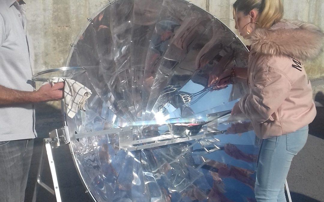 Talleres de Cocina Solar y Energías Alternativas en el IES Ataúlfo Argenta de Castro Urdiales