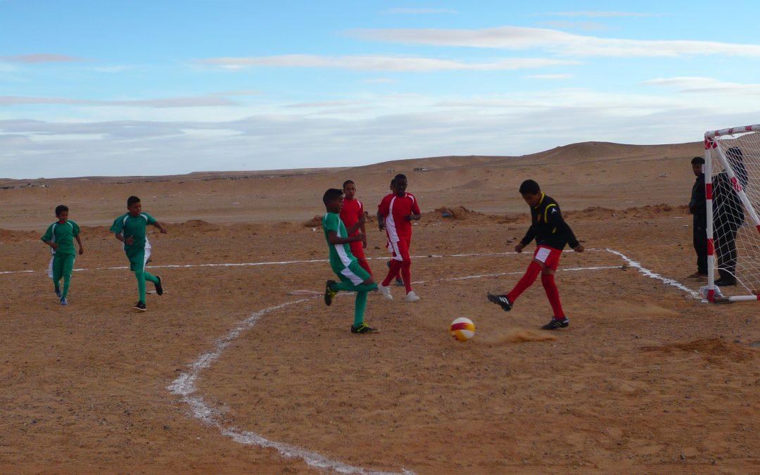 Tercera fase del proyecto de fortalecimiento de la escuela de secundaria en la wilaya de Bojador