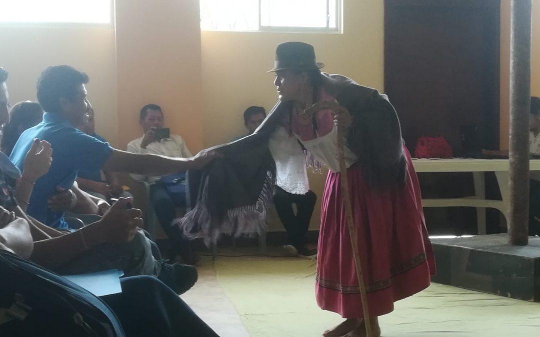 Clausuramos el año de trabajo con las Juntas de Agua socializando las actividades de inclusión y con la presentación de una obra teatral con enfoque de género