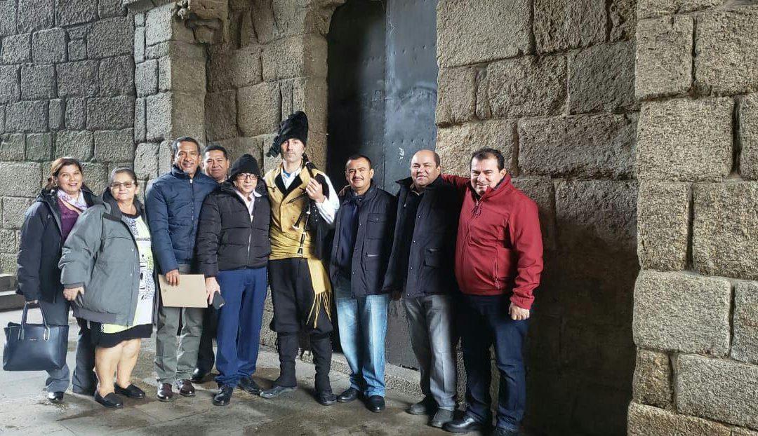 Crónica da visita da delegación da Mancomunidade NASMAR Honduras