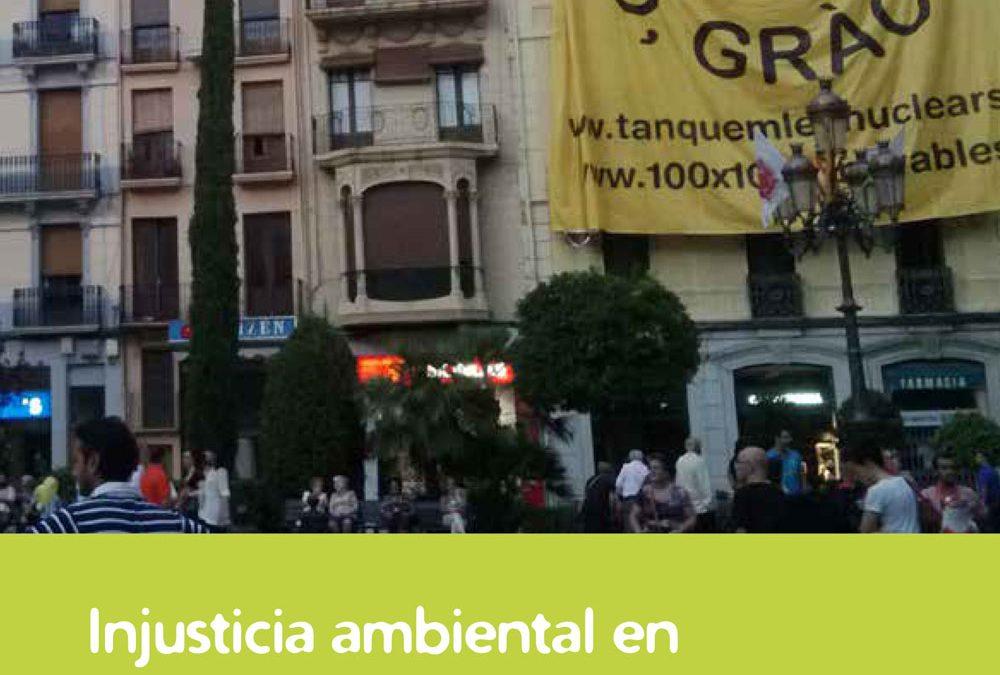 """Estudi """"Injusticia ambiental en Tarragona: Un análisis de conflictos y resistencias en el territorio"""""""