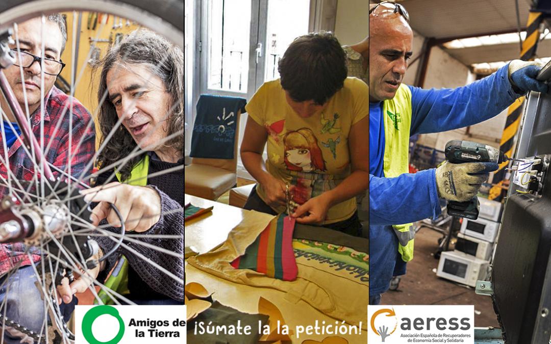 ISF Asturias se une a la campaña de reducción del IVA para tiendas y comercios de reparación y reutilización