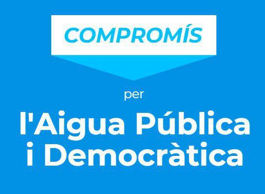 Compromís per l'Aigua Pública i Democràtica a l'AMB