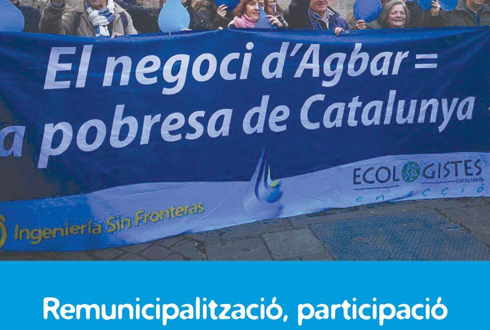 ESFeres24: Remunicipalització, participació i democràcia. Anàlisi i eines per a noves propostes de govern de l'aigua a Catalunya.