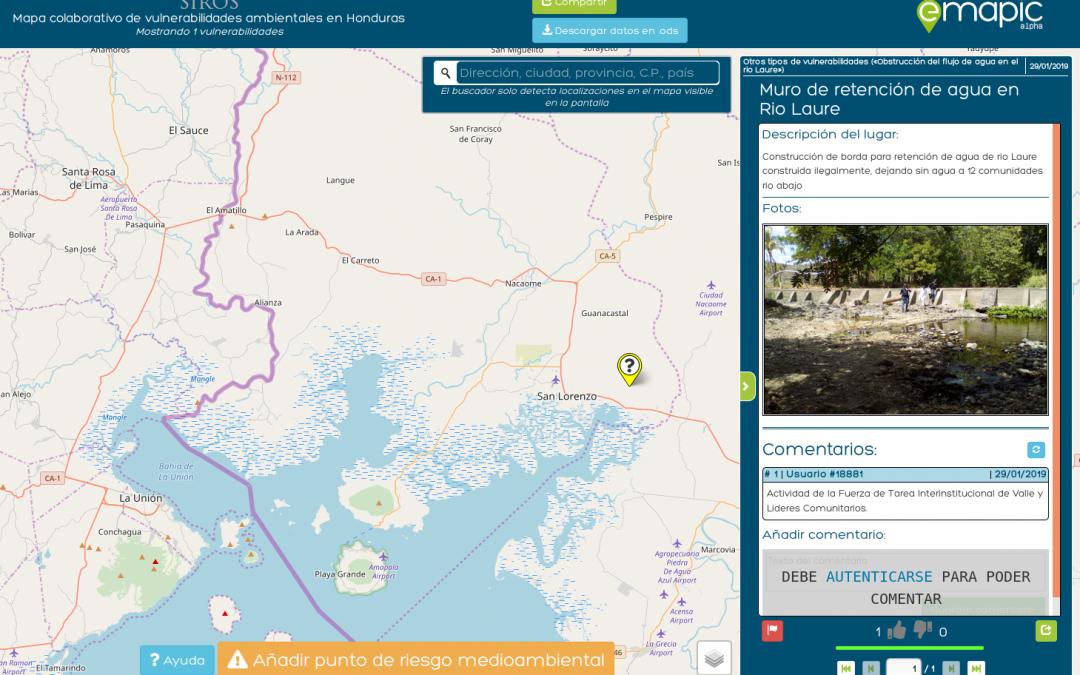 Ya se puede descargar la aplicación de cartografía colaborativa ambiental SIROS