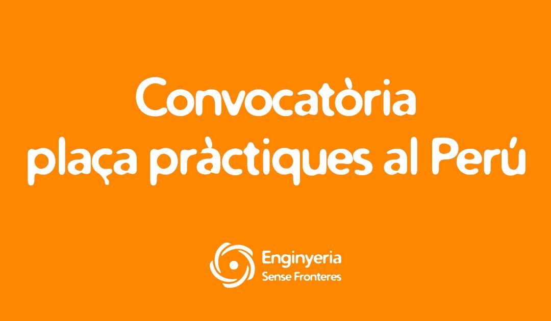 Ampliem el termini! – Pràctiques al Perú