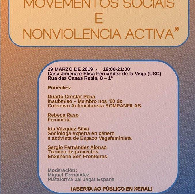 Non violencia nos movementos sociais