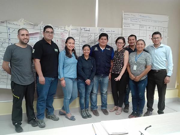 Desarrollamos un proceso de capacitación para la incorporación de estrategias de adaptación y mitigación al cambio climático en la Planificación del Desarrollo y Ordenamiento Territorial de la provincia de Orellana (Ecuador)