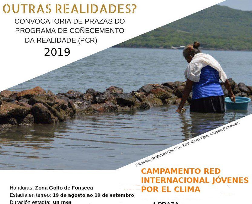 Viaxa (e aprende) connosco. PCR 2019 en Honduras