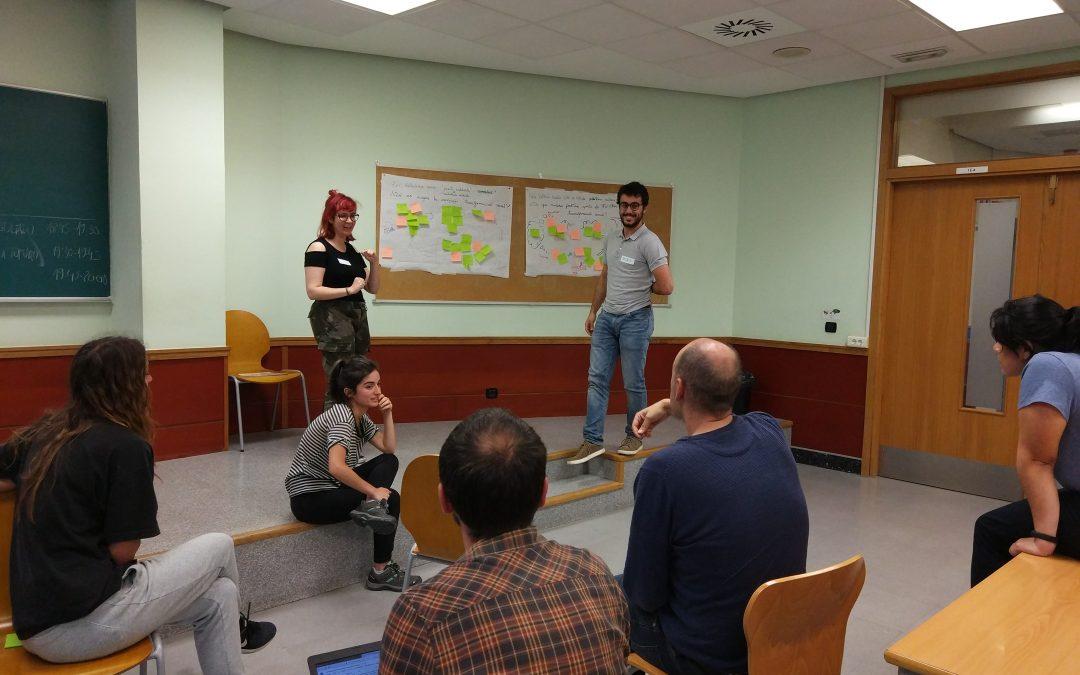 Dialogando sobre TFG que han apostado por la transformación social