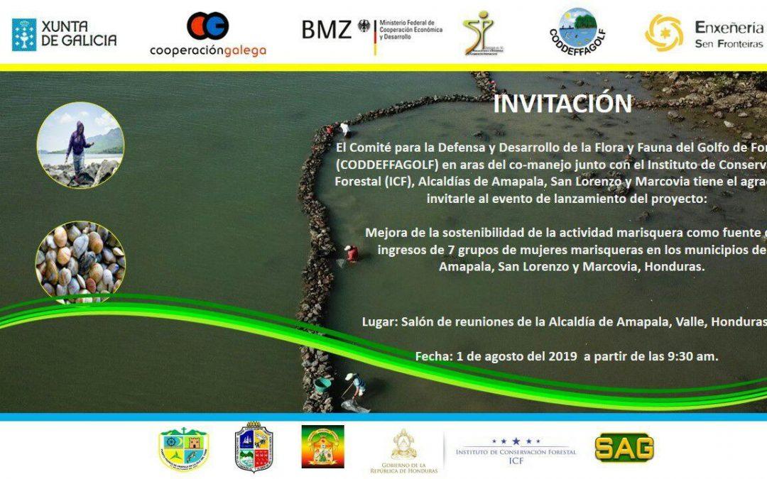 Un novo proxecto! Fortalecemento de 7 grupos de mulleres marisqueiras no Golfo de Fonseca, Honduras