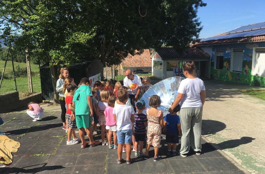 Talleres de Cocina Solar en Cabárceno