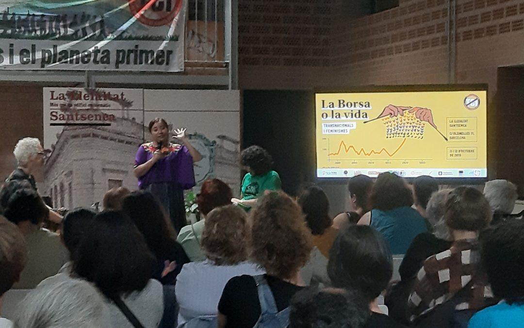 Jornades La borsa o la Vida, una mirada feminista i anticolonial als Tractats de Comerç i Inversió