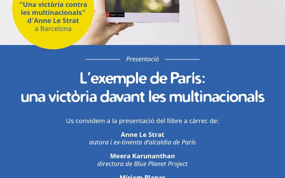 """Presentem la traducció del llibre """"Una victòria contra les multinacionals"""""""