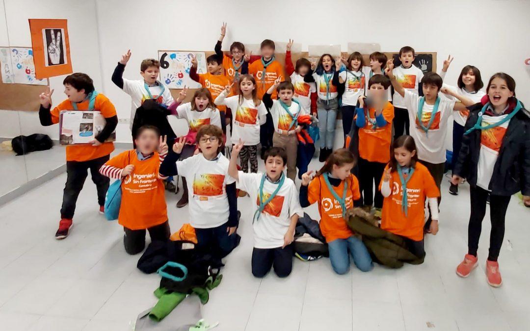 Cosntruimos hornos solares con el Grupo Scout Cerredo de Castro-Urdiales